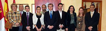 El rector, junto a los miembros de su Equipo de Gobierno