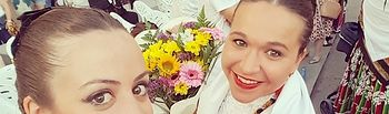 Casandra Ferrández ganadora del Concurso de Selfies de Pandorga en su XXX aniversario como fiesta de interés turístico regional