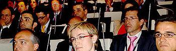 Agustina Piedrabuena, en el II Encuentro sobre Innovación de Telefónica Gartner, celebrado en Madrid.