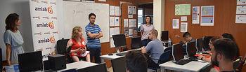 """El proyecto """"Activación hacia el empleo joven: destrucción de información de archivos digitales"""" impartido por Amiab, se inaugura en Albacete"""