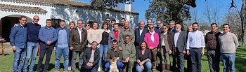 El presidente de Castilla-La Mancha visita, en la localidad toledana de Oropesa, la finca 'El Dehesón del Encinar'