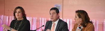 El presidente de Castilla-La Mancha, Emiliano García-Page, inaugura el Congreso de Formación Profesional Dual en el Palacio de Congresos 'El Greco'. (Fotos: José Ramón Márquez // JCCM).