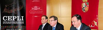 El rector inaugura estas III Jornadas Iberoamericanas.