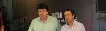 Antonio Serrano y Antonio Martínez.
