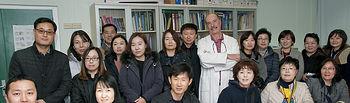 Visita de funcionarios de Corea.