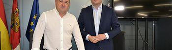 El alcalde, Vicente Casañ, y el vicealcalde, Emilio Sáez.