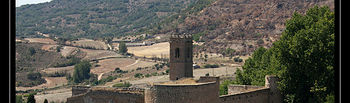 Castillo Peña Bermeja e Iglesia.