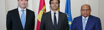 Arturo Romaní se reúne con el presidente de Aval CLM 1. Foto: JCCM.