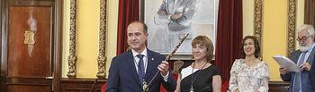 Investidura de Alberto Rojo como alcalde de Guadalajara.