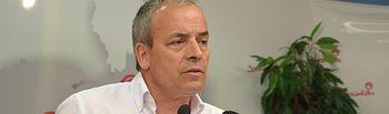 Julio García, portavoz del Grupo Socialista en la Diputación de Guadalajara.