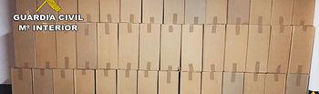 Detenido por contrabando de tabaco e incautadas 30.000 cajetillas en Membrilla (Ciudad Real)
