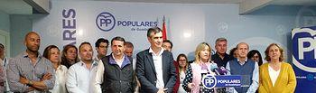 Comparecencia PP en la noche electoral del 26M.