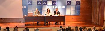 Presentación del Plan de Empleo a los alcaldes de la provincia de Guadalajara. Foto: JCCM.