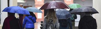 Lluvia - paraguas
