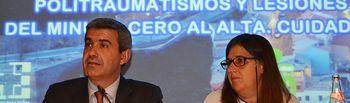 Álvaro Gutiérrez y Regina Leal (archivo).