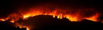 Incendio Forestal de Leira. Foto: EuropaPress