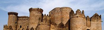Castillo de Belmonte (Cuenca).