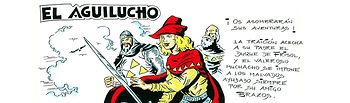 """""""El Aguilucho"""". Ilustración de Valeriano Belmonte."""