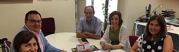 Encuentro con la Asociación de Empresarios de Campollano.