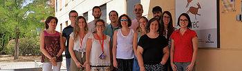 Grupo de Genómica, Proteómica y Biotecnología del IREC, al que pertenecen los investigadores De la Fuente y Villar.