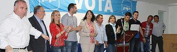 Constantino Berruga e Inmaculada López cerraron campaña electoral en Alcaraz.
