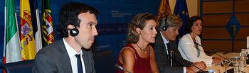 García Tejerina con ministros de Agricultura de Francia, Italia y Portugal. Foto: Ministerio de Agricultura, Alimentación y Medio Ambiente