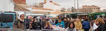 Foto de archivo del mercadillo de 'Los Invasores' en Albacete. Foto: La Cerca - Manuel Lozano García