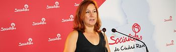 Pilar Espadas, secretaria de Comunicación del PSOE provincial de Ciudad Real.