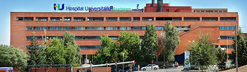 Hospital de Guadalajara. Archivo.