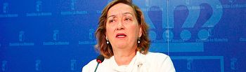 María Luisa Soriano, consejera de agricultura. Foto de archivo. Foto: JCCM.