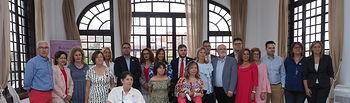 Entrega de premios de la 'II Mención Selene' de la Asociación Luna.