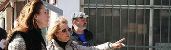 El grupo municipal de ciudadanos Cuenca visita el barrio de Casablanca junto a sus vecinos.