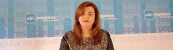 La portavoz del Grupo Municipal Popular en el Ayuntamiento de Puertollano, Antonia Berlanga.