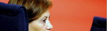 La ministra española del Medio Ambiente, Medio Rural y Marino, Elena Espinosa. EFE