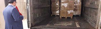 El Ministerio de Sanidad envía a Castilla-La Mancha mascarillas, ventiladores y batas de protección.