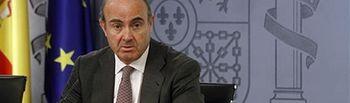 El ministro de Economía y Competitividad, Luis de Guindos. Foto: Ministerio de Economía y Competitividad