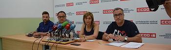 Agustín Martín, secretario estatal de Industria de CCOO.
