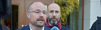 Alejandro Ruiz, secretario de Organización de Cs en Castilla-La Mancha y presidente del Grupo Parlamentario en las Cortes regionales.