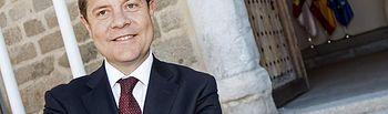 El presidente de Castilla-La Mancha, Emiliano García-Page. Foto: JCCM.