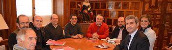 Gutiérrez con Amigos caminos de Santiago