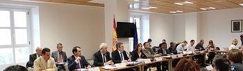 El Ministerio de Agricultura, Alimentación y Medio Ambiente informa sobre la planificación hidrológica española a una delegación del Comité de Peticiones del Parlamento Europeo. Foto: Ministerio de Agricultura, Alimentación y Medio Ambiente
