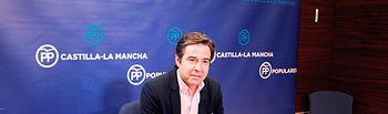 Lorenzo Robisco, en rueda de prensa.