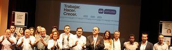 Francisco Núñez y Mollá, en la presentación de la candidatura.