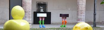 Inauguración de la exposición del artista 'dEmo'. Foto: Jose Ramon Marquez // JCCM