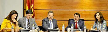 Labrador en Comisión Asuntos generales. Foto: JCCM.