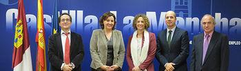 Franco aborda con representantes del ICEX la posibilidad de reforzar la colaboración con el IPEX en 2017