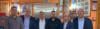 Clausura de la Asamblea Anual de 'Destilerías Manchegas'.