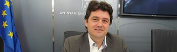 El concejal de Deportes, Francisco Navarro