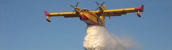 Avión Anfibio. Foto: Ministerio de Agricultura, Alimentación y Medio Ambiente