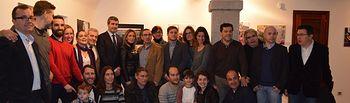 Inauguración de la exposición de los reporteros gráficos (foto archivo)